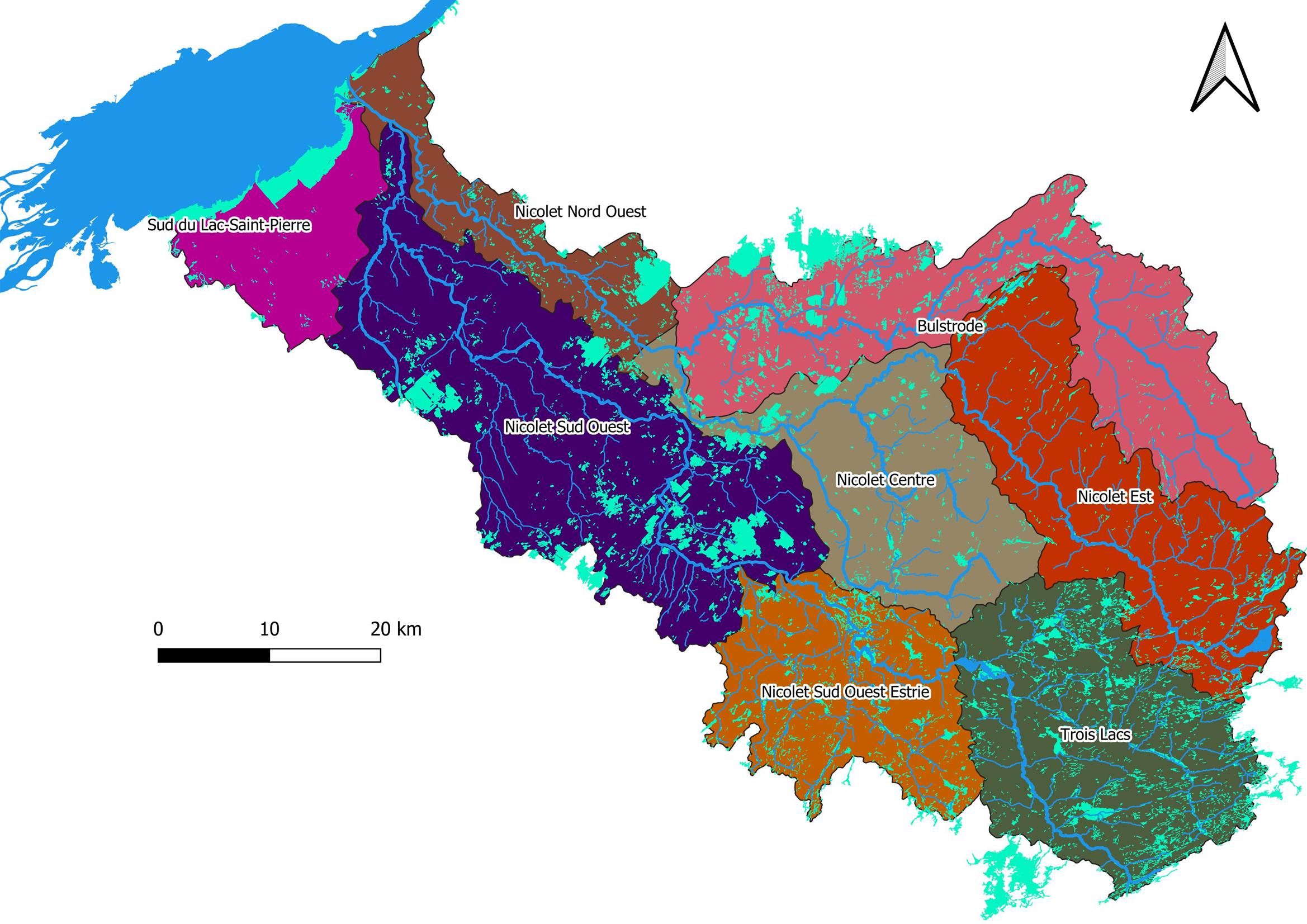 Objectifs de conservation des ressources en eau et des milieux associés 2020-2021